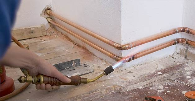 Gas Line Repair Installation